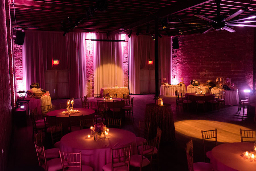 Modern Romantic Valentines Inspired Wedding Reception With Pink