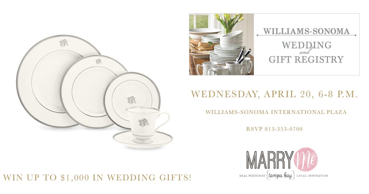 Wedding Registry Event At Williams Sonoma International Mall