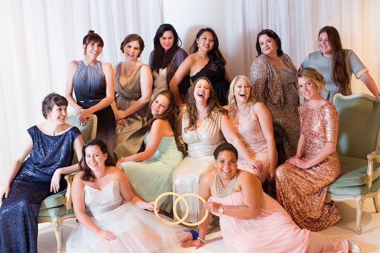 Aisle Society Bloggers at NYC Bridal Market Launch Party