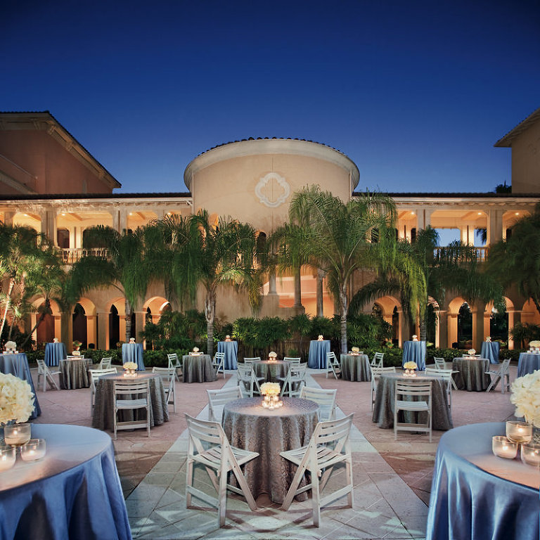 Outdoor Garden Orlando Wedding Venue: Ritz Carlton Grande Lakes Citrus Garden