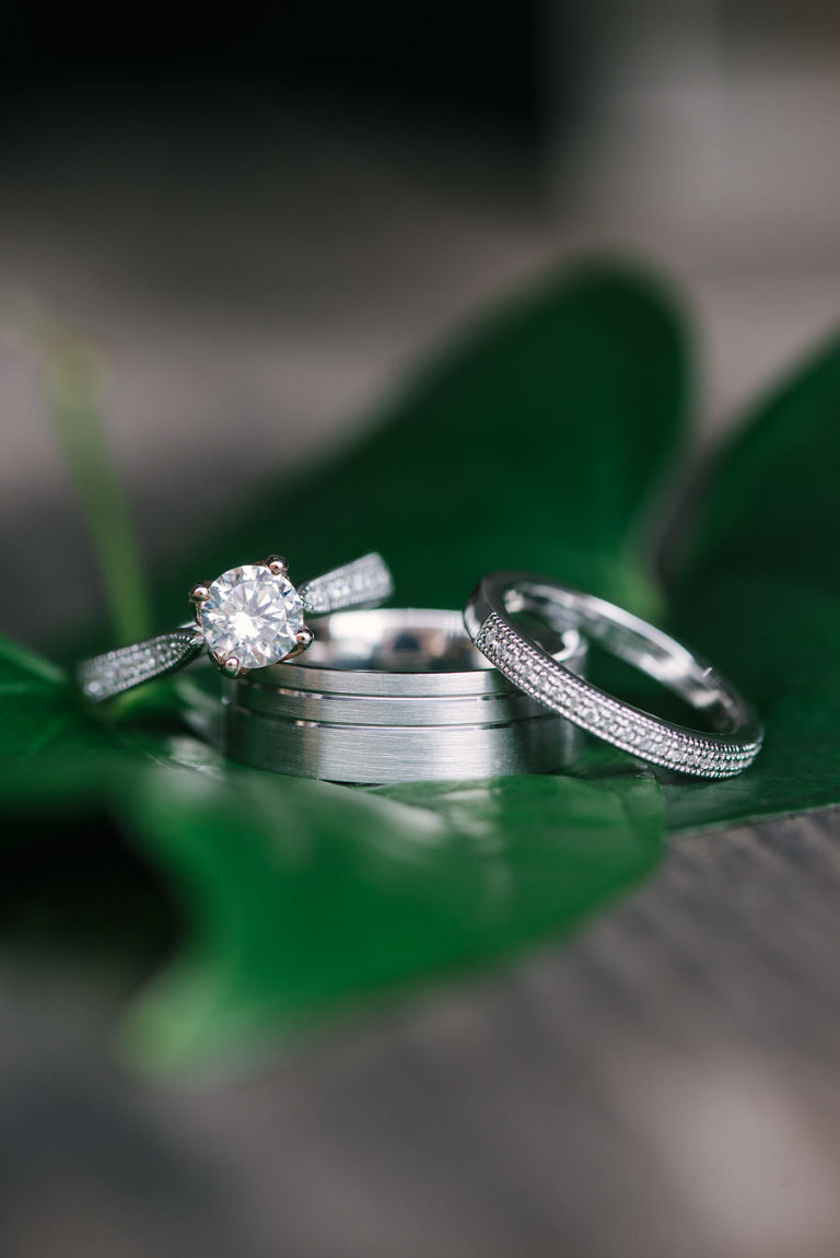 Wedding Ring and Engagement Ring