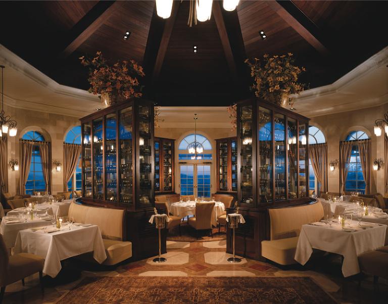 Orlando Wedding & Rehearsal Dinner Venue : Ritz Carlton Grande Lakes Normans Restaurant