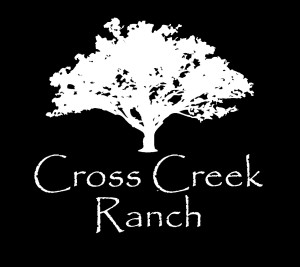 Rustic, Outdoor Tampa Bay Wedding Venue Cross Creek Ranch Logo