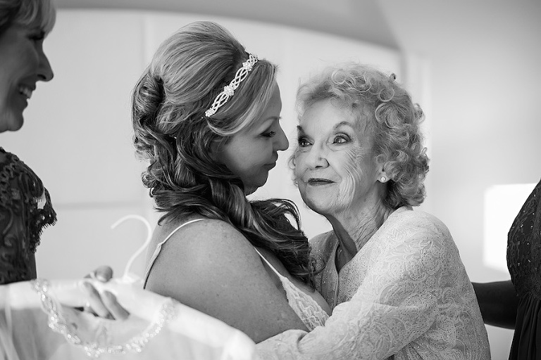 Mother/Daughter Wedding Portrait | Tampa Bay Wedding Photographer Limelight Photography