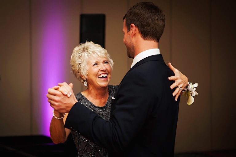 Mother/Son Wedding Parent Dance Portrait | Tampa Bay Wedding Photographer Limelight Photography