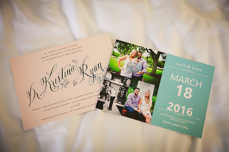 Wedding Invitation and Photo Save the Date by Minted | St. Pete Wedding Photographer Limelight Photography