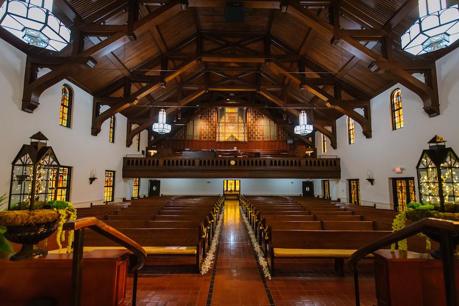 Wedding Ceremony Venue First Presbyterian Church of Tampa