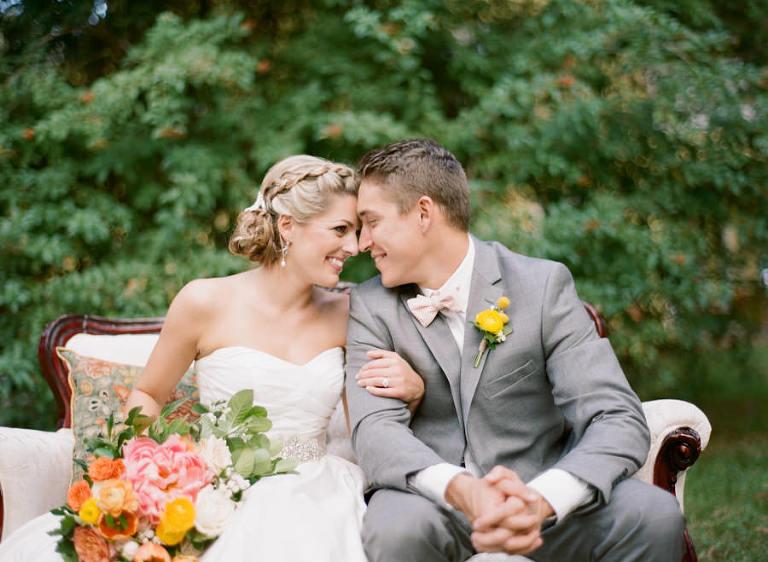 Vintage Wedding Dresses Tampa: Tampa Bay Citrus Inspired Vintage Styled Wedding Shoot