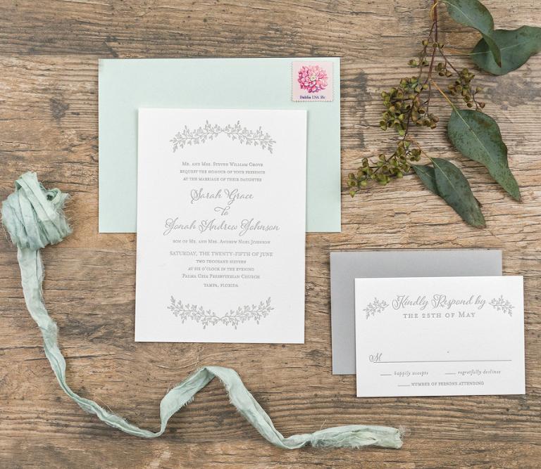 European Inspired Spring Wedding Invitation Trends by St Pete Wedding Invitation Designer AP Design Co