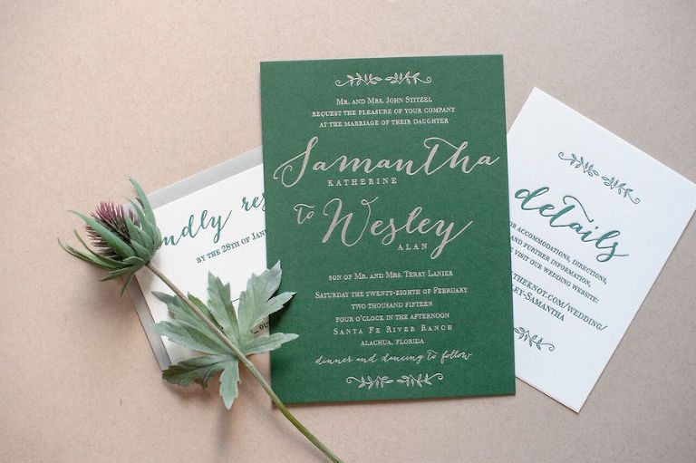 tampa bay wedding invitations summer wedding invitation trends