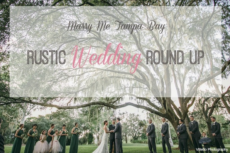 Rustic Tampa Bay Sarasota Real Wedding Inspiration