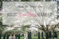 Rustic Tampa Bay Sarasota Real Wedding Inspiration