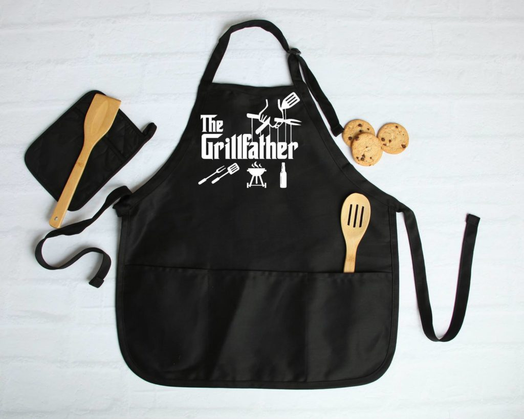 Father's Day Wedding Gift Godfather Grill Apron