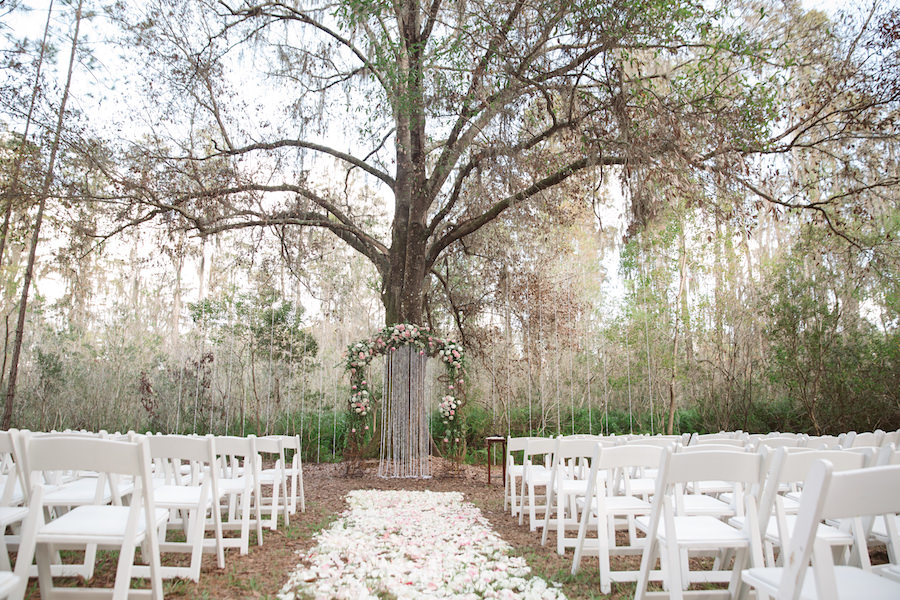Land O' Lakes Rustic, Glam Wedding In The Woods