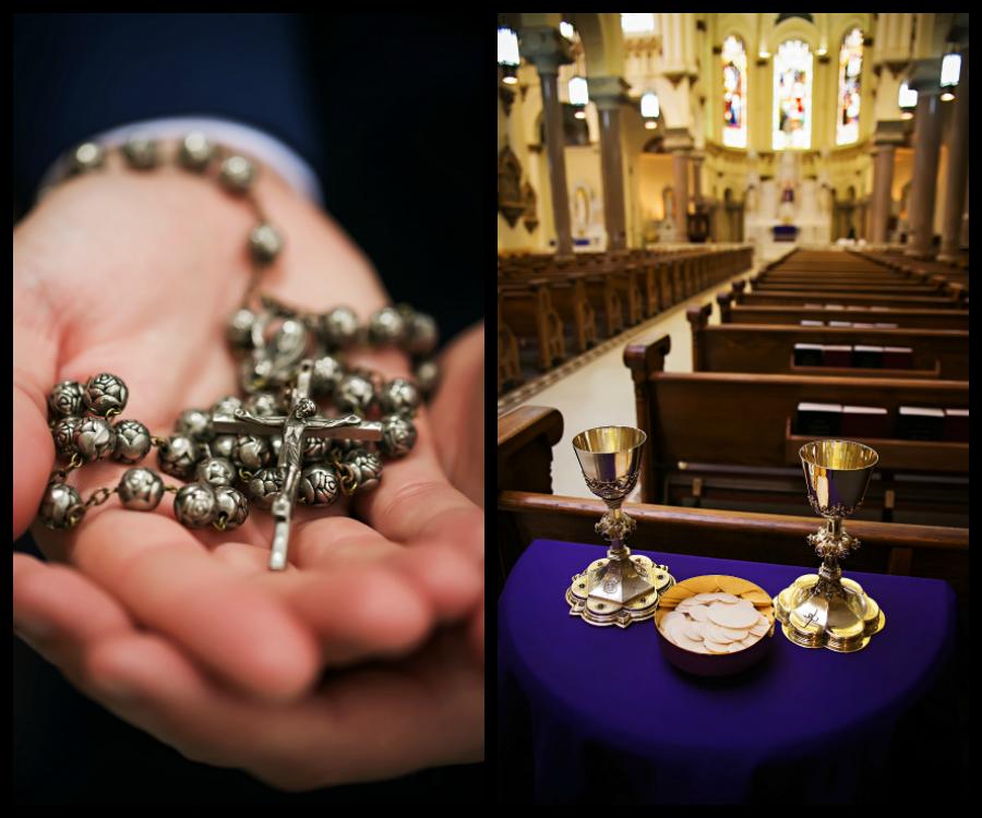 Downtown Tampa Wedding Ceremony Venue Sacred Heart Catholic Church