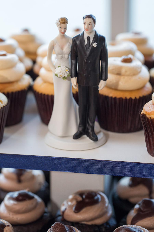 Bride and Groom Wedding Cake Topper | Wedding Cake Alternatives | Cupcake Tower