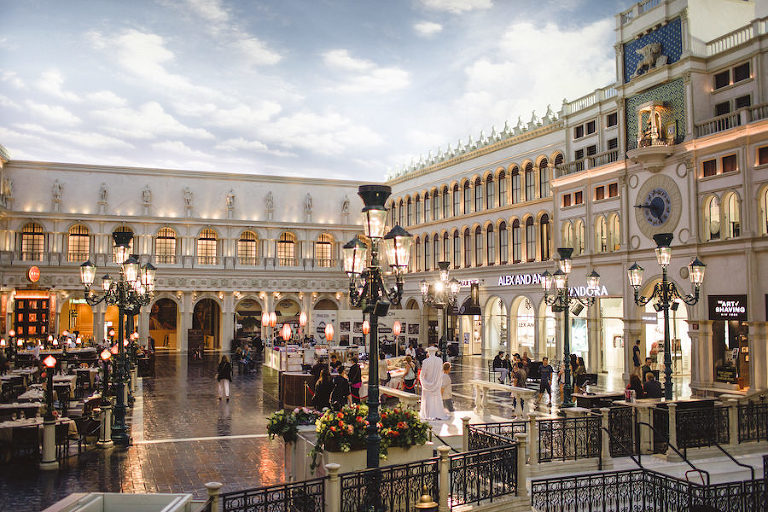 Venetian Las Vegas Grand Canal Shops