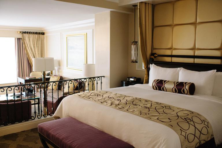 Venetian Las Vegas Hotel Room Review for Girls' Bachelorette Party Wedding Weekend