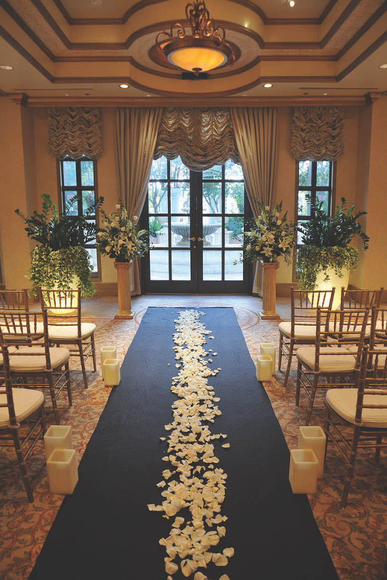 Venetian Las Vegas Magnolia Chapel Wedding Ceremony