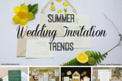 Friday Five Summer Inspired Wedding Invitation Trends