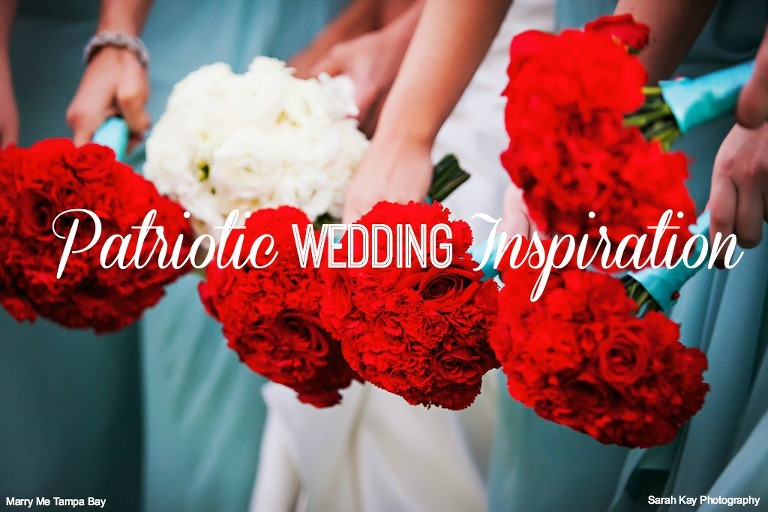 Patriotic Wedding Inspiration | Fourth of July Wedding Round Up