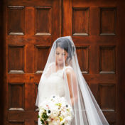 Bridal Wedding Portrait in Ivory, Lace Romona Keveza Wedding Dress   Tampa Wedding Dress Shop Isabel O