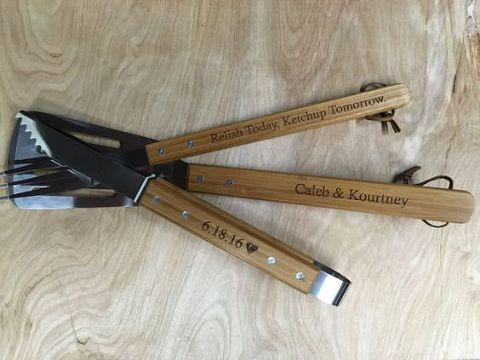 Father's Day Personalized Grilling Set | Father of the Bride Gift Ideas | Marry Me Tampa Bay