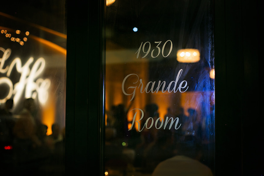 Ybor City Tampa Wedding Reception Venue 1930 Grande Room