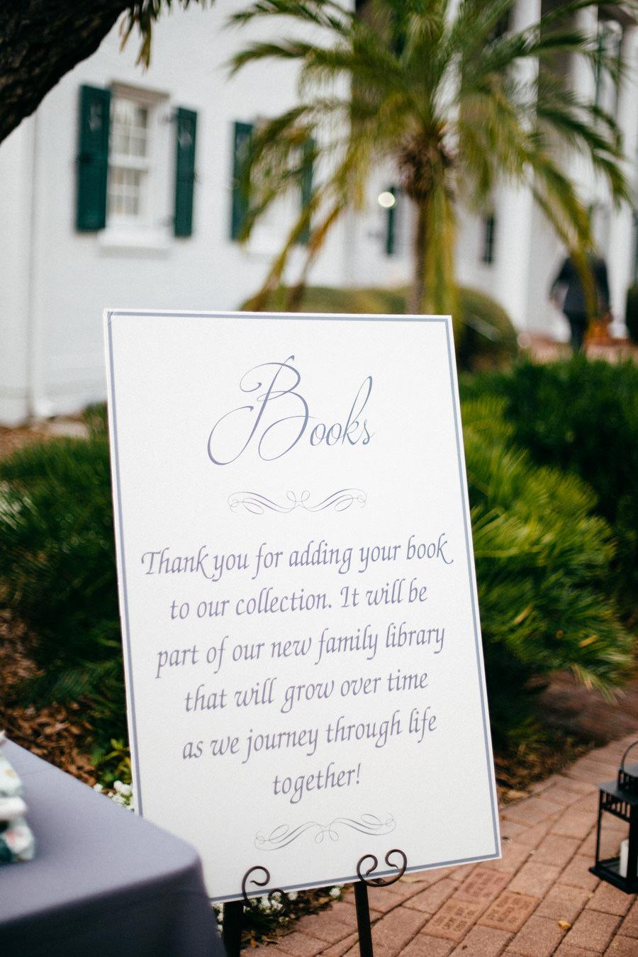 Wedding Book Table Signage