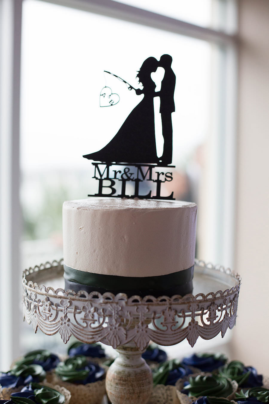 Navy Blue Wedding Cake Topper Images Cake And Photos