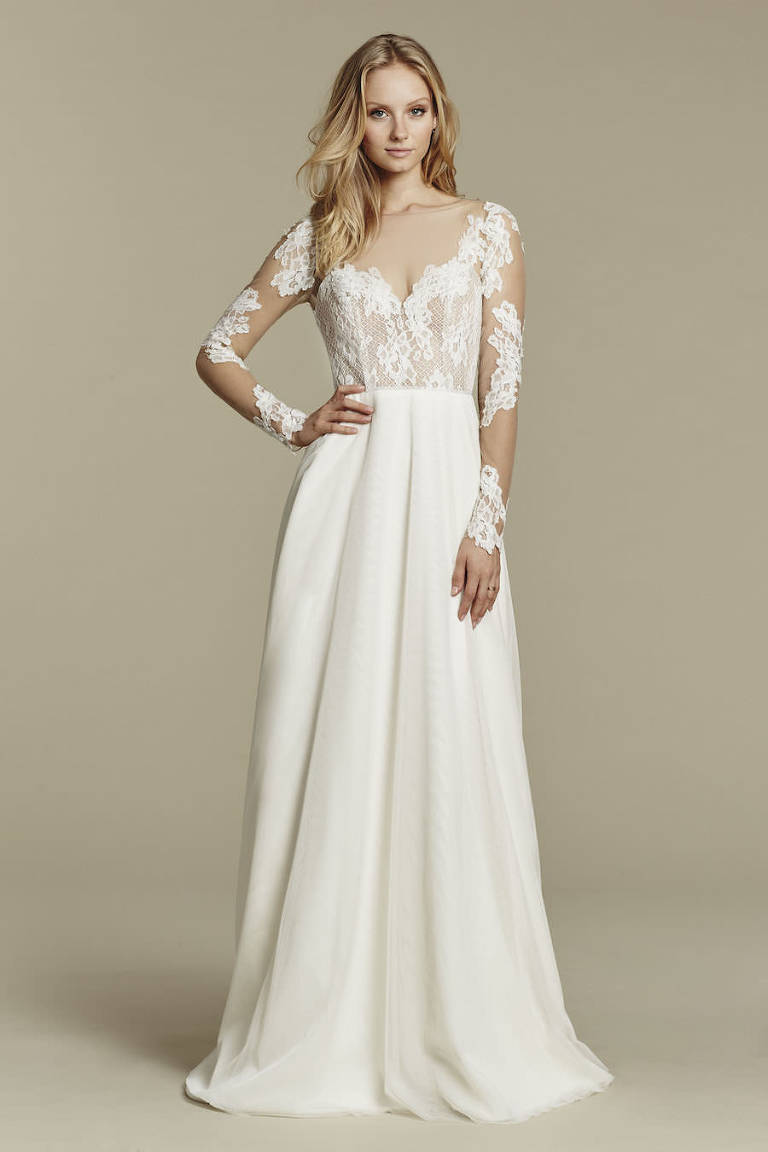 Ginger Dress | Blush by Hayley Paige Lace Wedding Dress from Blush Bridal Sarasota