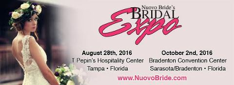 Tampa Bay Bridal and Wedding Expo | August 28, 2016 Tampa Bridal Expo at T Pepin Hospitality Centre