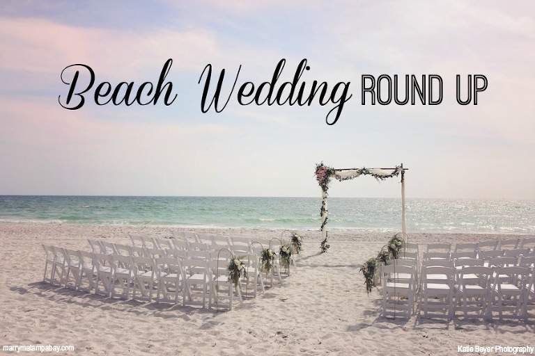 Tampa Bay/Sarasota Beach Wedding Inspiration
