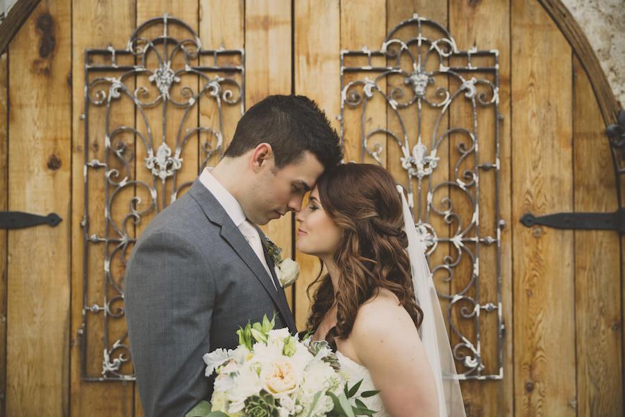 Bride and Groom Wedding Portrait   Sarasota Wedding Venue Bakers Ranch