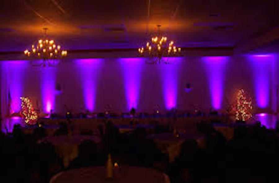 Wedding Reception Uplighting Dj