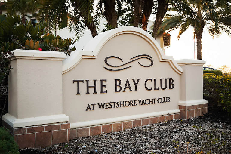 Waterfront South Tampa Nautical Wedding Venue | Westshore Yacht Club Marina
