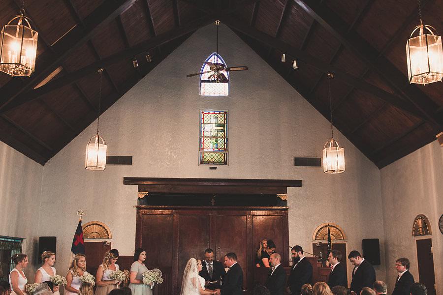 Church Wedding Ceremony at Ybor City Venue Amazing Love Ministries