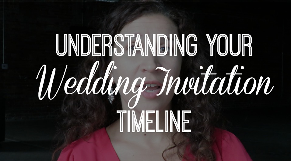 Expert Advice: Understanding Your Wedding Invitation & Stationery Timeline | Tampa Bay Letterpress Stationery A&P Design Co.