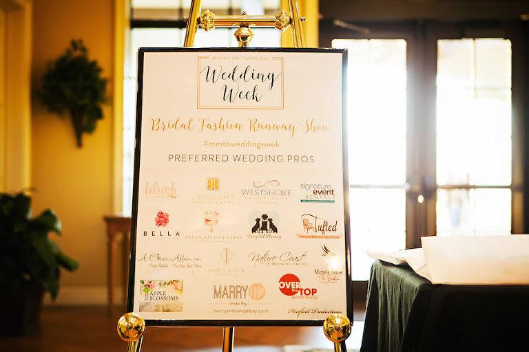 Marry Me Tampa Bay Wedding Week Fashion Show | Wedding Photographer Limelight Photography