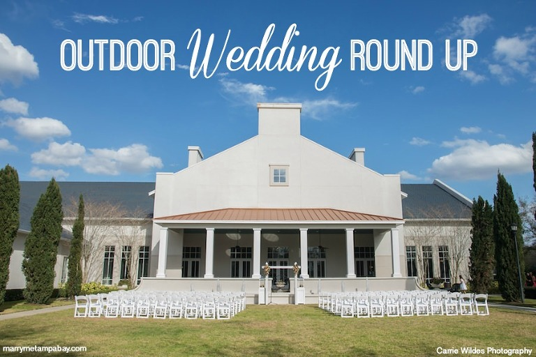 Outdoor Tampa Bay Wedding Venue Inspiration