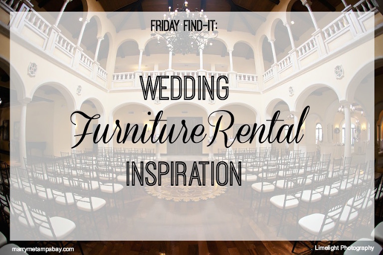 Wedding Furniture Rental Inspiration from Tampa Bay Wedding Furniture Rental Companies