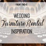 Wedding Furniture Rental Inspiration from Tampa Bay Wedding Furniture Rental Companies