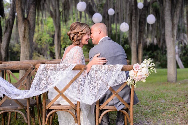French Country Chairs for Outdoor Wedding Ceremony |Tampa Wedding Rental Company A Chair Affair