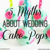 Lily Pulitzer Inspired Wedding Cake Pops | Tampa Wedding Cake Pop Baker Sweetly Dipped Confections