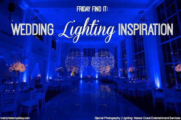 Tampa Bay Wedding Lighting Al Inspiration