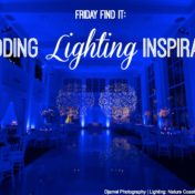 Modern Wedding Reception at The Vault | Lighting by Nature Coast Entertainment | Downtown Tampa Wedding