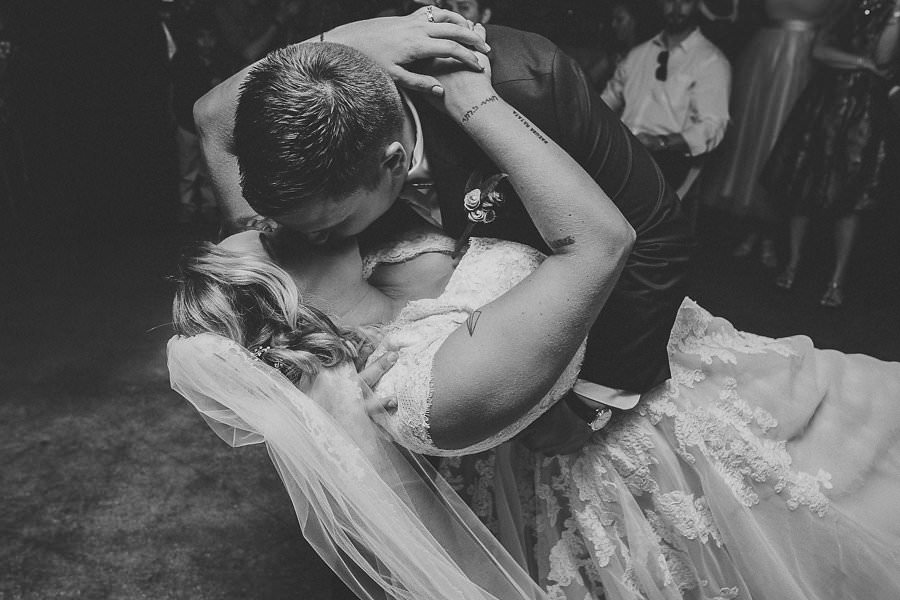 Tampa Bay Bride and Groom First Dance/Kiss Wedding Portrait