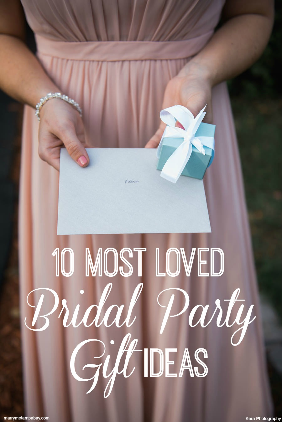 Wedding Parting Gift Ideas: 10 Most Loved Bridal Party Gift Ideas