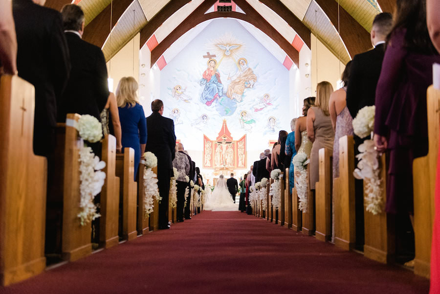 St. Joseph's Catholic Church Tampa Wedding Ceremony | Wedding Photography Ailyn La Torre Photography