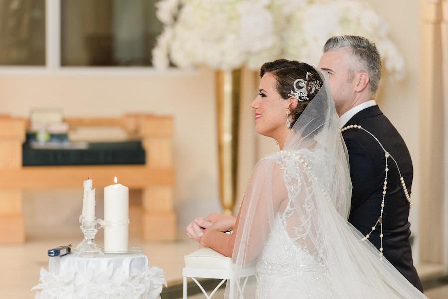 Liana Fuente Wedding Ceremony Portrait | Tampa Wedding Photographer Ailyn La Torre Photography